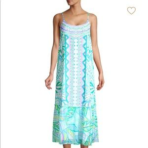 Lilly Pulitzer midi dress - new with tags